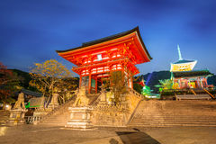 Kiyomizu-Dera Buddhist temple in Kyoto, Japan Stock Photos