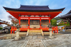 Kiyomizu-Dera Buddhist temple in Kyoto, Japan Royalty Free Stock Images