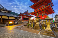 Kiyomizu-Dera Buddhist temple in Kyoto, Japan Royalty Free Stock Image
