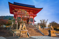 Kiyomizu-Dera Buddhist temple in Kyoto, Japan Royalty Free Stock Photography