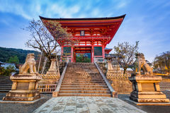 Kiyomizu-Dera Buddhist temple in Kyoto, Japan Stock Photography