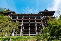 Kiyomizu-dera buddist temple in Kyoto Royalty Free Stock Photo
