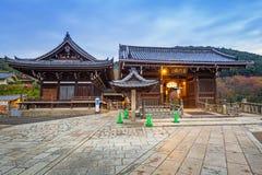 Kiyomizu-Dera Buddyjska świątynia w Kyoto, Japonia Zdjęcia Stock