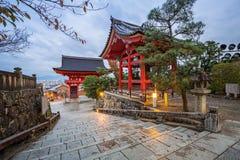 Kiyomizu-Dera Buddyjska świątynia w Kyoto Obraz Royalty Free