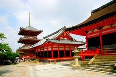 Kiyomizu-dera del Giappone Fotografia Stock