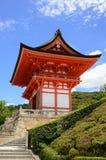 Kiyomizu-Dera Entrance Gate. Kiyomizu-Dera is a landmark Buddhist temple in Kyoto, Japan Royalty Free Stock Images