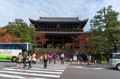 KIYOMIZU DERA, KYOTO, JAPÓN Foto de archivo