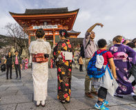 Kiyomizu Dera Royalty Free Stock Images