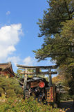The Kiyomizu-dera. Kyoto, Japan - May 28, 2014  Buddhist Temple of Kyoto, Japan on an spring day feat Stock Image