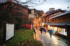Kiyomizu-dera, offiziell Otowa-San Kiyomizu-dera ist ein independ Stockfoto