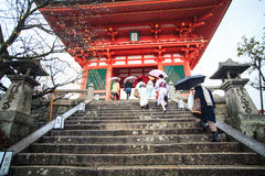 Kiyomizu-dera, offiziell Otowa-San Kiyomizu-dera ist ein independ Stockfotos