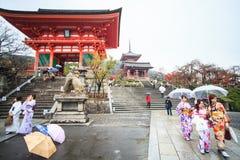 Kiyomizu-dera, offiziell Otowa-San Kiyomizu-dera ist ein independ Lizenzfreies Stockbild