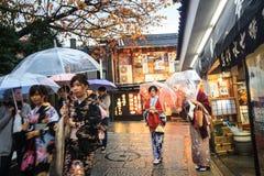 Kiyomizu-dera, offiziell Otowa-San Kiyomizu-dera ist ein independ Lizenzfreies Stockfoto