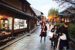 Kiyomizu-dera, Otowa-san Kiyomizu-dera es oficialmente un independ Imagen de archivo libre de regalías