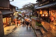 Kiyomizu-dera, Otowa-san Kiyomizu-dera es oficialmente un independ Foto de archivo libre de regalías