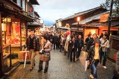 Kiyomizu-dera, Otowa-san Kiyomizu-dera es oficialmente un independ Fotos de archivo libres de regalías