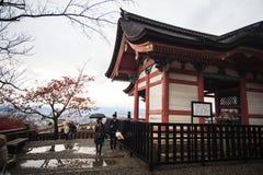 Kiyomizu-dera, Otowa-san Kiyomizu-dera es oficialmente un independ Fotografía de archivo