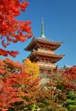 Kiyomizu-dera Pagoda Stock Photo