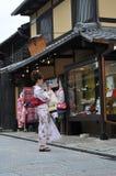Kiyomizu-dera shops Stock Image