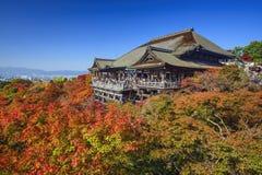 Kiyomizu-dera Shrine in Kyoto Royalty Free Stock Photos