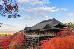 Kiyomizu-dera stage Royalty Free Stock Photo