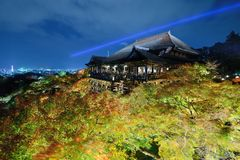 Kiyomizu-dera Royalty Free Stock Images