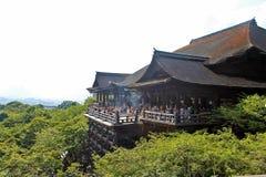 Kiyomizu-dera Tempel lizenzfreie stockfotos