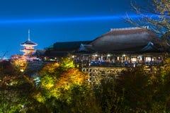 Kiyomizu-dera Temple Stock Image