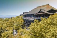 Kiyomizu-dera Temple, famous Buddhist temple in Kyoto, Japan.  Stock Photos