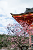 Kiyomizu-dera Temple Gate Royalty Free Stock Images