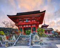 Kiyomizu-dera Temple Gate Royalty Free Stock Photo