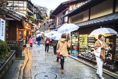 Kiyomizu-dera Temple Gate in Kyoto, Japan Stock Photography