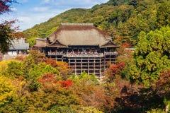 Kiyomizu-dera Temple in Kyot Stock Image