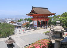 Kiyomizu dera temple Kyoto Royalty Free Stock Photo