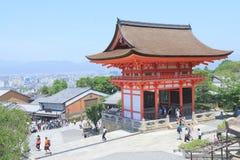 Kiyomizu dera temple Kyoto Stock Photography