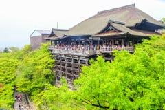 kiyomizu Dera Temple in Kyoto Stock Photo