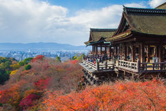 Kiyomizu Dera temple in Kyoto Japan Stock Photography