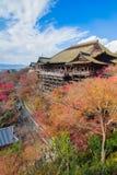 Kiyomizu Dera temple in Kyoto Japan Royalty Free Stock Photography