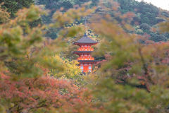 Kiyomizu-dera Temple Royalty Free Stock Image