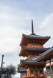 Kiyomizu Dera Royalty Free Stock Photo