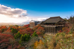 Kiyomizu-dera Temple in Kyoto. Japan Stock Photography