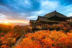 Kiyomizu-dera Temple in Kyoto, Japan Royalty Free Stock Image