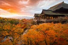 Kiyomizu-dera Temple in Kyoto, Japan Royalty Free Stock Images