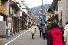 Kiyomizu-dera temple Royalty Free Stock Images