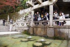 Kiyomizu-dera temple Stock Images