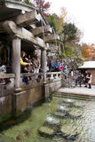 Kiyomizu-dera temple Stock Photo