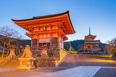 Kiyomizu Dera Temple in Kyoto, Japan Royalty Free Stock Photo
