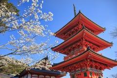 Kiyomizu-dera in Temple Kyoto Royalty Free Stock Photo