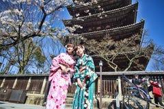Kiyomizu-dera in Temple Kyoto Stock Image