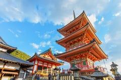 Kiyomizu-dera Temple in Kyoto Royalty Free Stock Photo